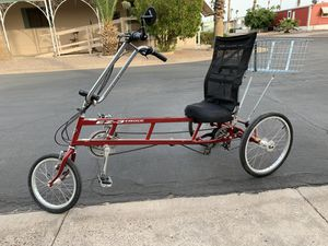 Recumbent Trike. In Apache Junction for Sale in Apache Junction, AZ