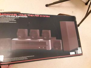Blackweb 1000w bluetooth subwoofer.. home theater system for Sale in Summersville, WV