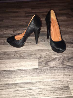 Black calf skin Elizabeth and James brand heels for Sale in Tacoma, WA