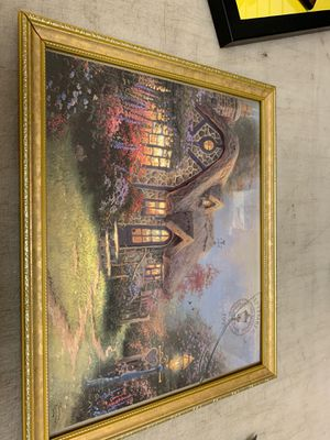 Picture Thomas kinkade 12x15 for Sale in Phoenix, AZ