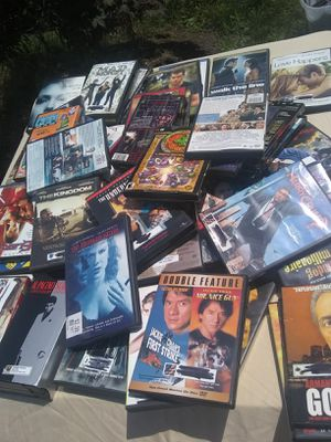 DVD and VHS Hundreds of them come see movies! for Sale in Warwick, RI