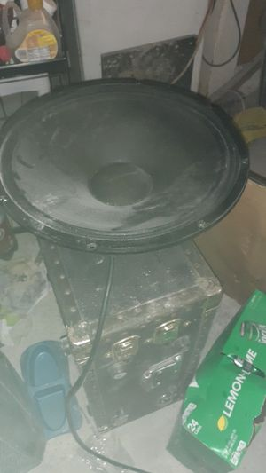 "15"" pro audio woofer for Sale in Pleasant Hill, IA"