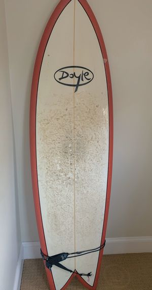 Doyle 6'1 Red Fish Surfboard, super fun! for Sale in Gloucester, MA