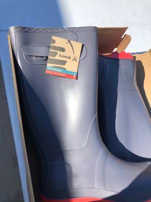 KAMIK Olivia charcoal rain boots for Sale in Dallas, TX