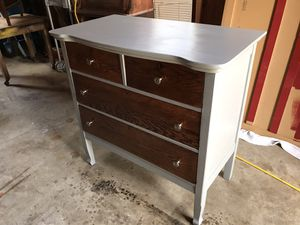 Antique refinished dresser for Sale in Puyallup, WA