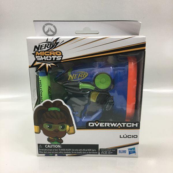 Nerf Micro Shots Overwatch LUCIO Nerf Gun Blaster