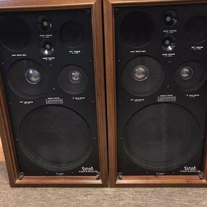 Vintage speakers for Sale in Des Plaines, IL