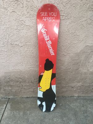 New Grand marnier snowboard Grand marnier board Grand marnier snowboard surfboard Grand marnier t-shirt Modelo Tecate corona Budweiser Pacifico for Sale in La Habra Heights, CA