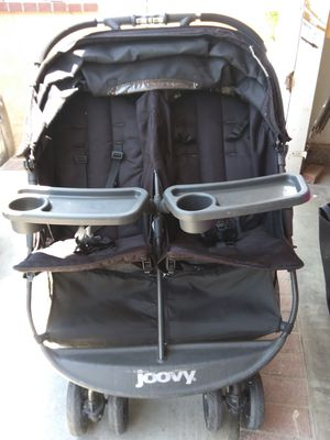 Joovy double stroller good condition $60 🍼👶 for Sale in Moreno Valley, CA