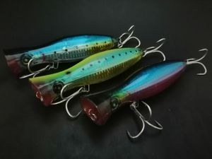 x3 POPPERS TUNA BLUEFIN LURE fishing yellowtail bonito yellow fin jig bluefish stripers surf rod POLE LURE for Sale in Whittier, CA