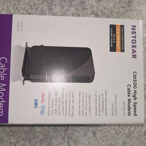 Netgear CM500 High Speed Cable Modem for Sale in Phoenix, AZ