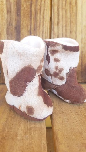 Cowhide Baby Boots for Sale in San Angelo, TX