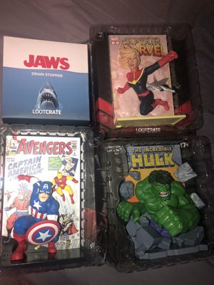 Marvel action figure collectibles for Sale in Deer Park, WA