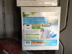 Intex pool pump for Sale in Olympia, WA