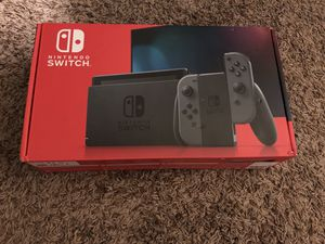 Nintendo Switch with gray Joy-Con (brand new) for Sale in Poway, CA