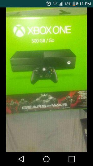 Xbox one 2 controller nba2k17 cod infinite warefare with xbox live and 1 year warranty for Sale in Santa Monica, CA