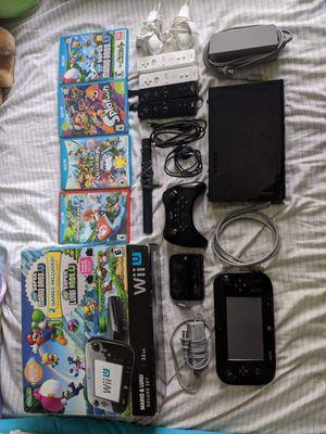 Nintendo Wii U Mario and Luigi Deluxe Set 32 GB: Black for Sale in Houston, TX