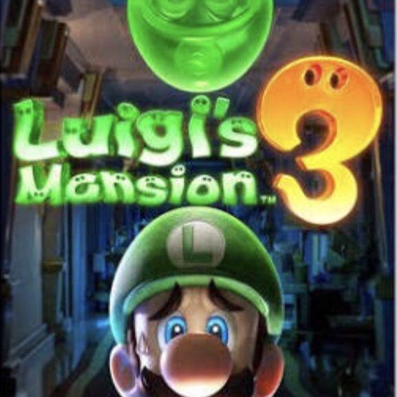 Luigis mansion 3 NEW