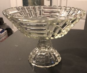 Decorative Raised Glass Dish for Sale in Westminster,  MD
