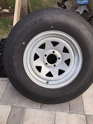 "Trailer tire/rim NEW 15"" for Sale in Miami, FL"