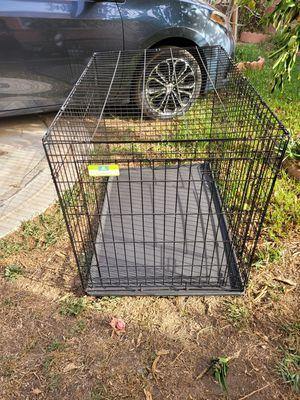 XL 2 door folding Dog crate for Sale in Artesia, CA