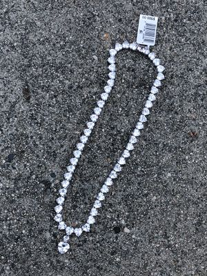 Sterling silver heart necklace retail $500 for Sale in Gardena, CA