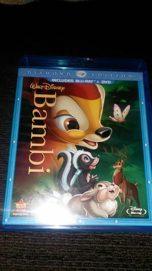 Bambi blue ray and DVD for Sale in San Marcos, CA