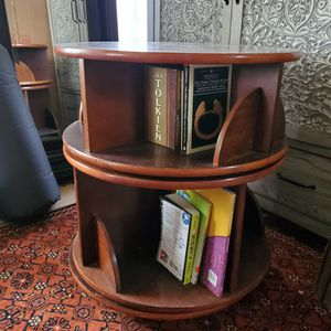 Levenger Rotating Book Shelves (Three Pieces) for Sale in Tacoma, WA