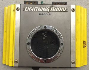 Lightning 200.2 car amp for Sale in Pittsburgh, PA
