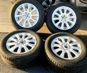 4 18 in 5x112 wheels rims and tires for Sale in Germantown, MD