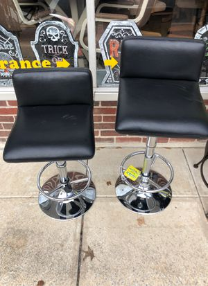 Set of two adjustable height stools modern for Sale in Cherry Hill, NJ