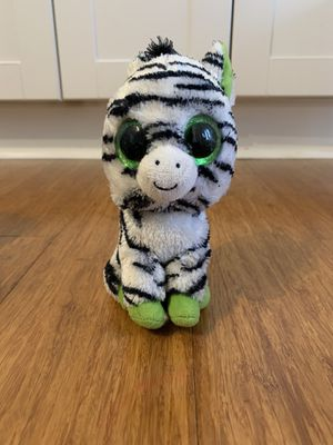 Zebra Small Beanie Boo ty for Sale in Winter Springs, FL