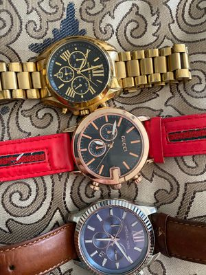 2 MK watches 1 Gucci watch for Sale in Palm Bay, FL