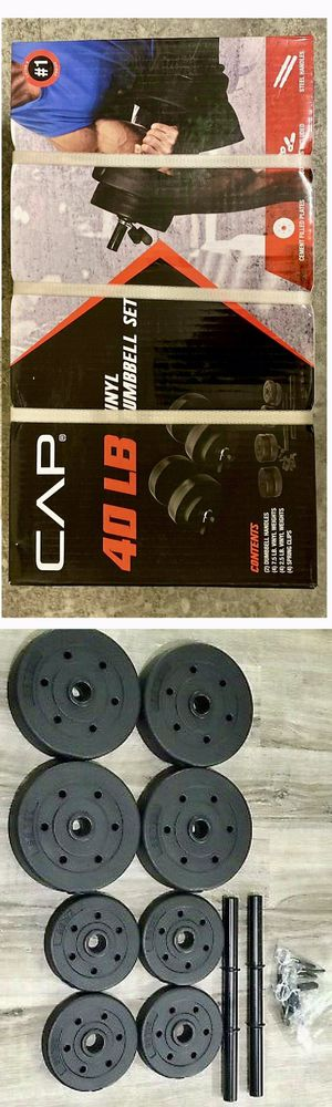 Adjustable Dumbbell Set 40 lbs for Sale in Cerritos, CA