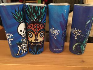 Cute Decorated Collectible Milagro Tequila Shot Glasses for Sale in Tampa, FL