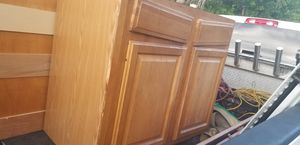 16-20 piece kitchen cabinets/island/marble tops for Sale in Fort Lauderdale, FL