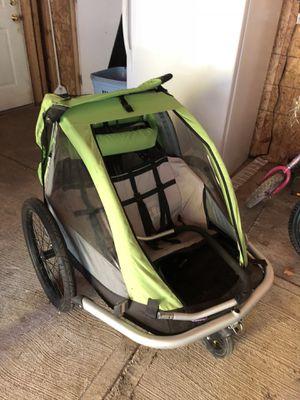 Double bike trailer / stroller for Sale in Portland, OR