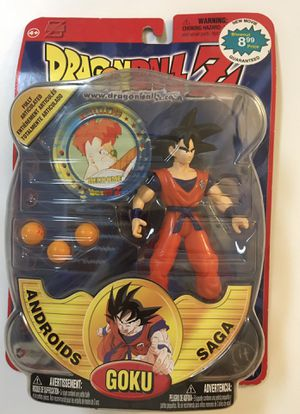 Dragonball Z Androids Saga GOKU Deluxe Action Figure 2000 Irwin Toy Series 5 Dragon Ball Z DBZ NEW IN PACKAGE!!! for Sale in Bay Lake, FL