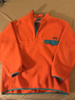 Vintage 90s Patagonia Synchilla Snap Fleece Pullover - Large for Sale in New York, NY