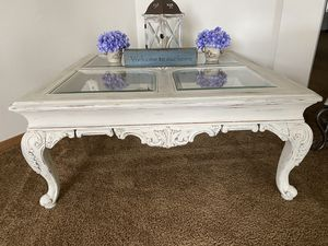 Custom finished oak coffee table for Sale in Orting, WA