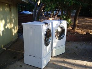 Tromm LG washer and dryer with storage drawers for Sale in Monterey, CA