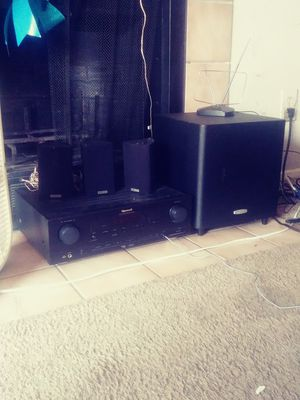 Stereo and speaker system for Sale in Duluth, GA
