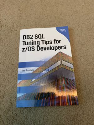 DB2 SQL Tuning Tips for z/OS Developers for Sale in Bellevue, WA