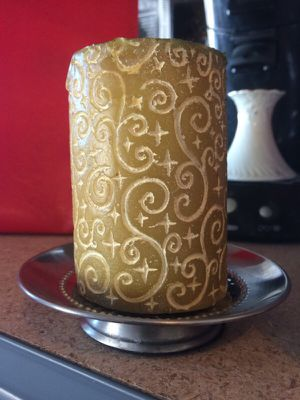 Candle holder or soap dish metal for Sale in Nashville, TN