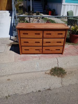 Solid wood dresser for Sale in Nipomo, CA