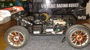1/8 Scale Racing Buggy 240$ only needs front gear box and Plastic body for Sale in Chelsea, MA