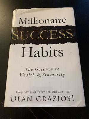 Millionaire Success Habits book for Sale in Chula Vista, CA