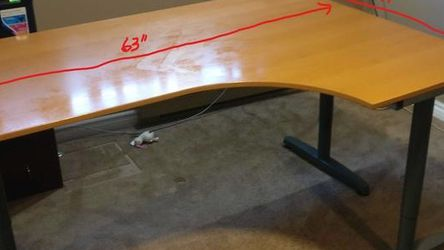 IKEA Galant Desk With Leaf for Sale in Sammamish,  WA