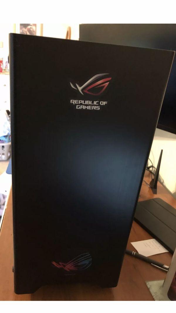 Gaming PC Custom 8700k i7 32GB Ram 500GB SSD EVGA GTX 1060 RGB