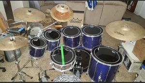 Seven Piece Pearl drum set for Sale in Littleton, CO